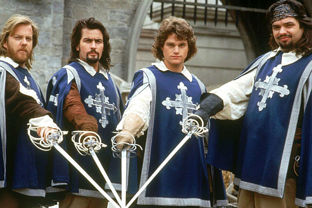 The three musketeers received significado - 628784