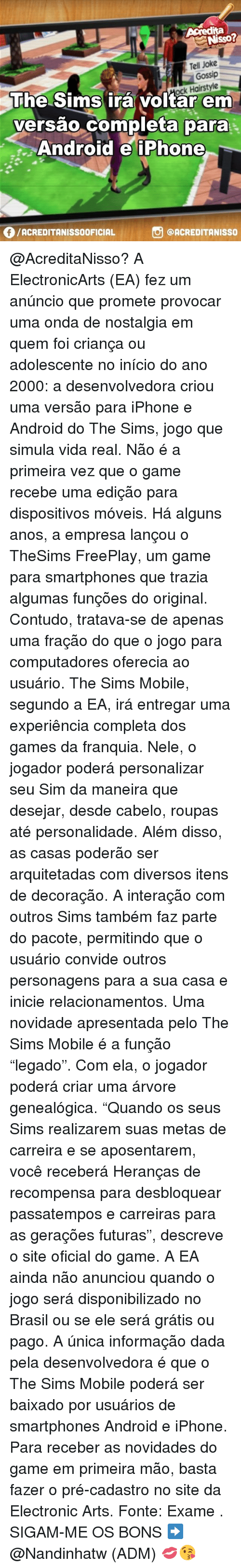 Igt Brasil the sims mobile - 637068