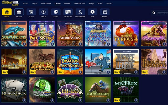 Casinos stakelogic williamhill score - 645215