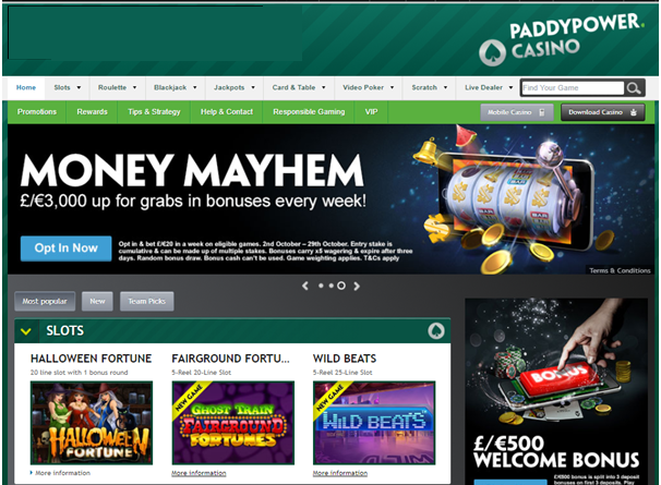 Cassinos online paddy power - 86006