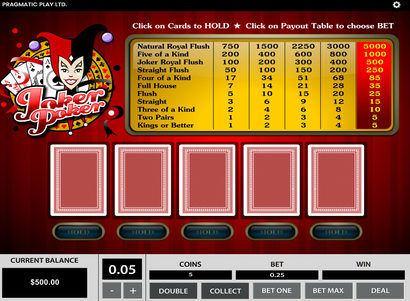 Pragmatic play poker online - 680753