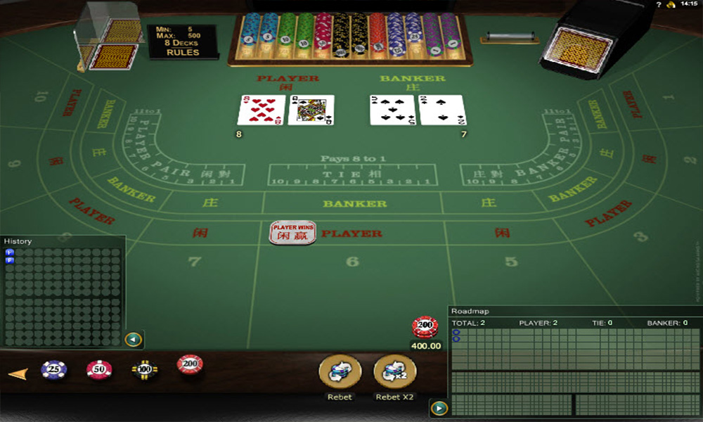 Relax gaming baccarat gold - 465399