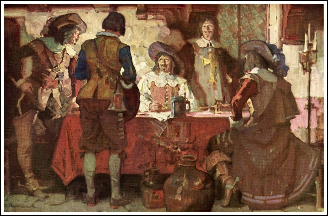 The three musketeers received significado - 781881