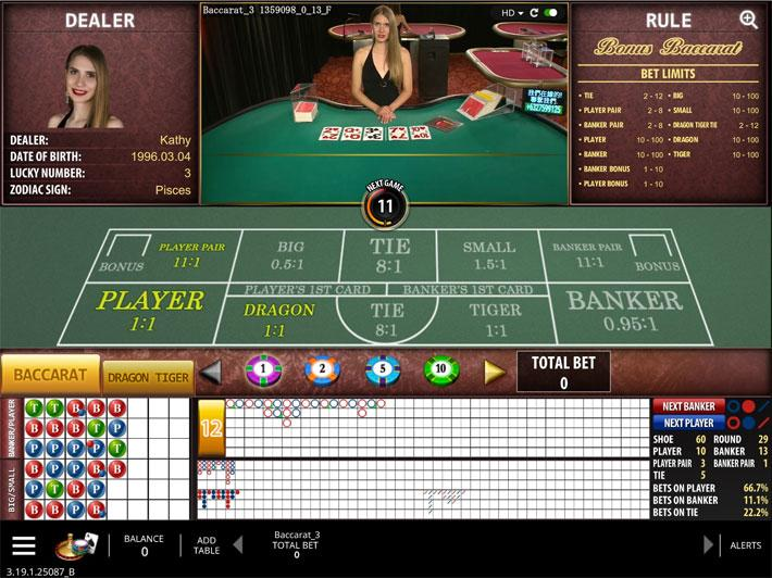 Baccarat online microgaming Suécia - 296589
