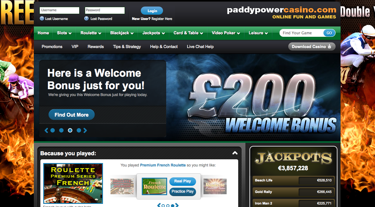 Casinos rival Bélgica paddy power - 906040