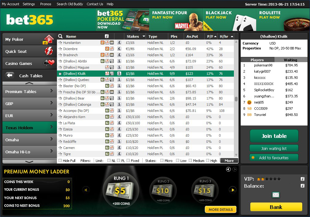 Real time gaming bonus lealdade bet365 - 131661