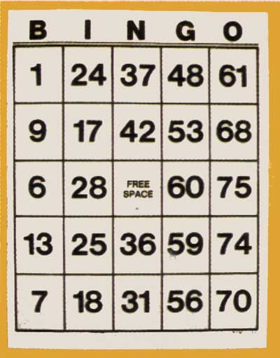 Como cantar bingo casinos gamevy - 988601