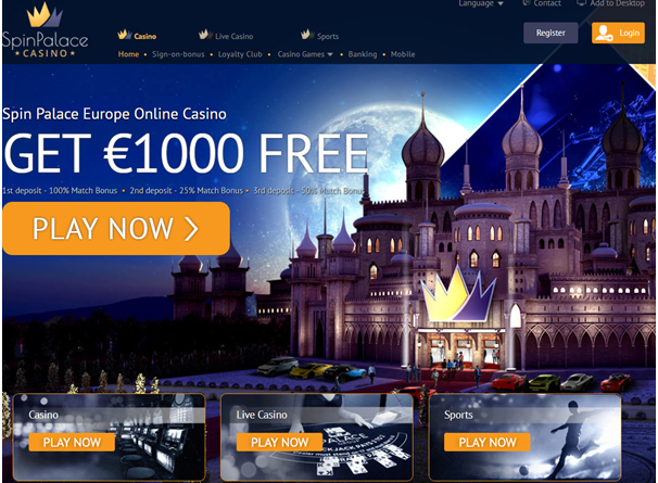 Spin palace net slot cassino gratis - 604653
