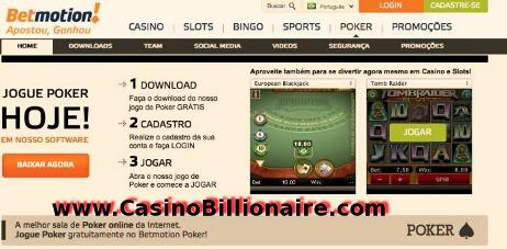 Betmotion casino reguladoras loteria - 598955