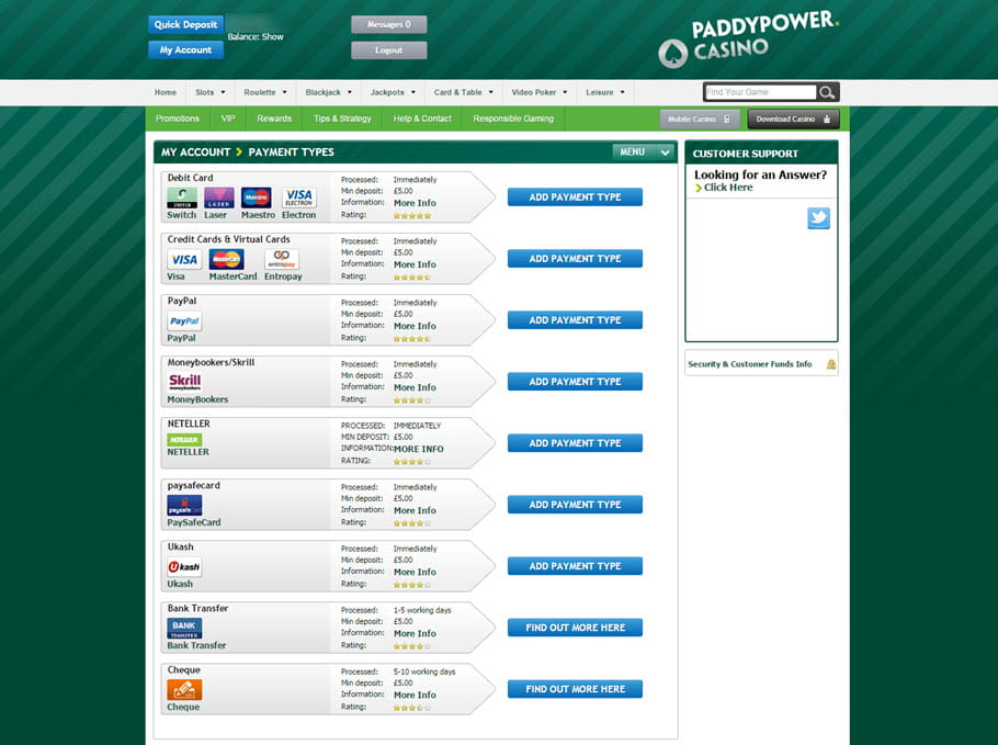 Casinos netent Dinamarca paddy power - 60749