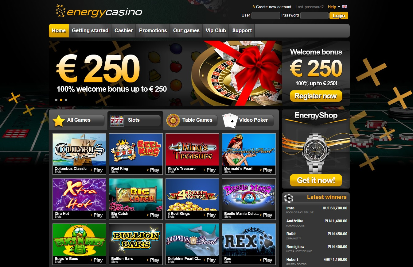 Energy casino 188bet gratis - 504101