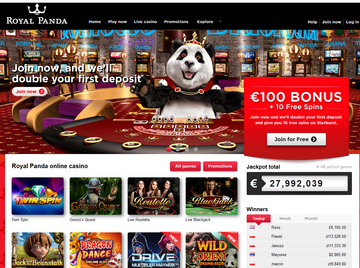 Halloween casino royal panda - 26320
