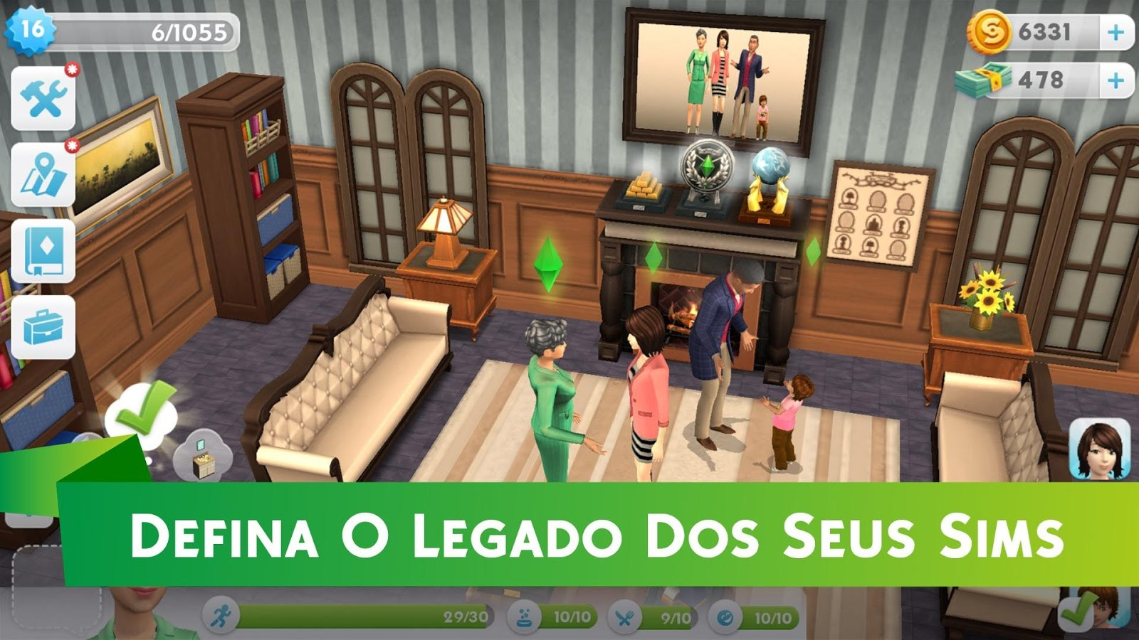 Igt Brasil the sims mobile - 76884