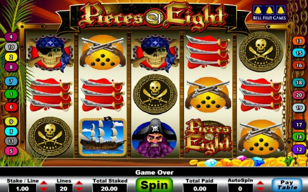 Pirates vídeo bingo open bet - 516073