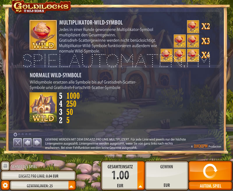 Williams interactive goldilocks casino Brasil - 836934